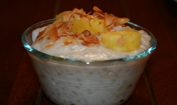 coconut tapioca pudding 2