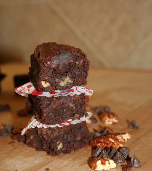 perfect pecan brownies 3